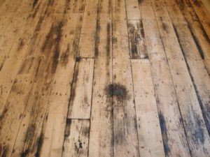 damaged floor