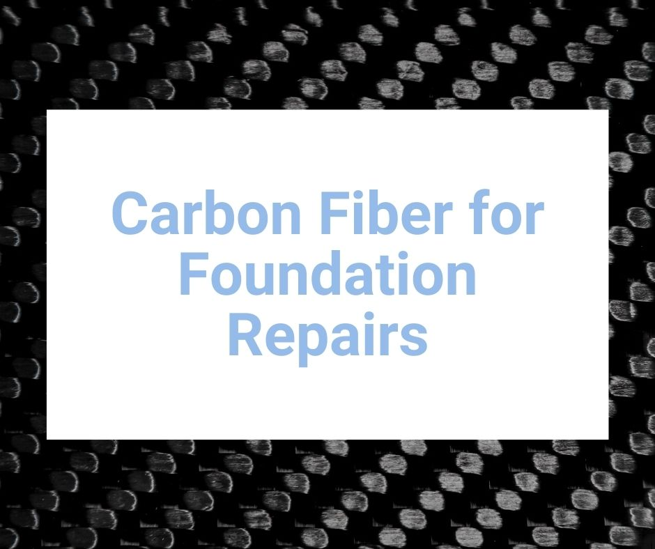 Rhino carbon fiber for foundation repairs for bowing and leaning walls.