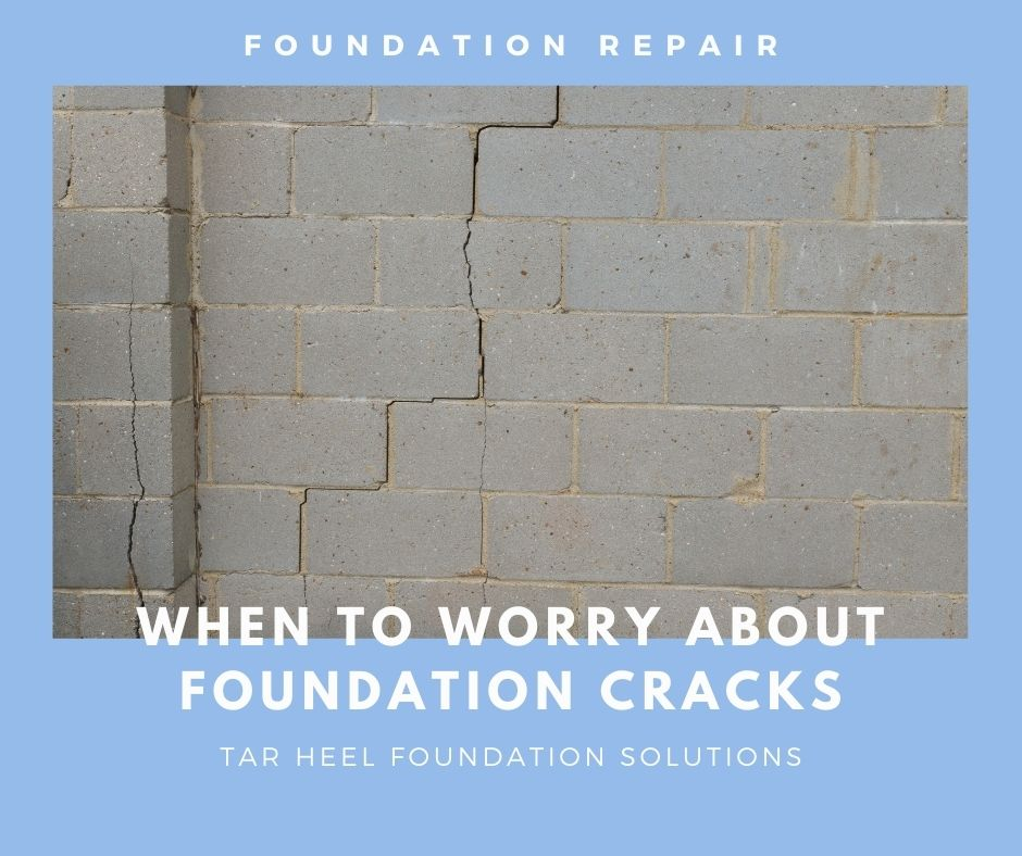 Vertical and horizontal cracks in your foundation should be repaired by foundation repair experts   When to Worry About Foundation Cracks