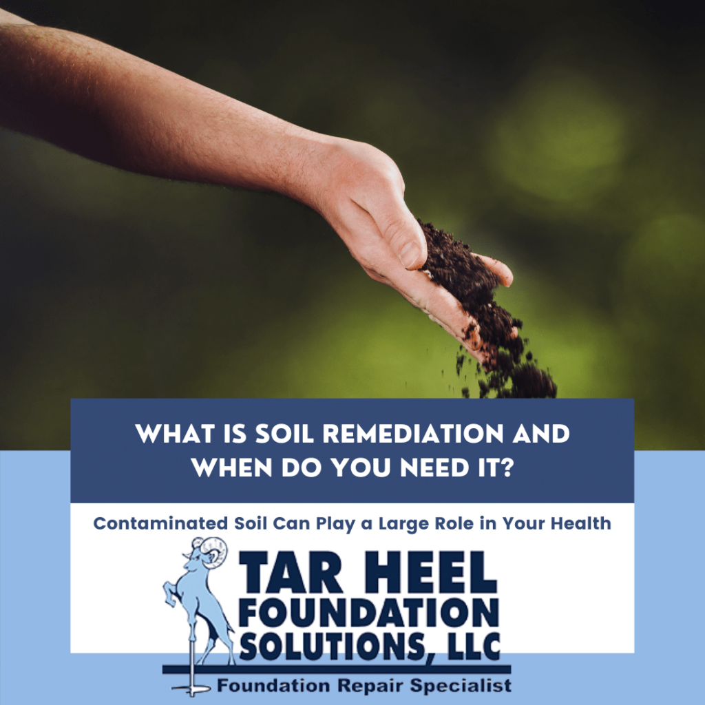 Soil remediation makes your soil safe and removes the health risks